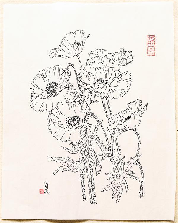 庄志明先生绘画作品欣赏 --山西黄河新闻网