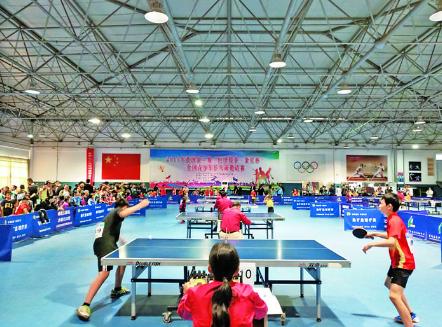 黄河金三角青少年乒乓球比赛在运举办